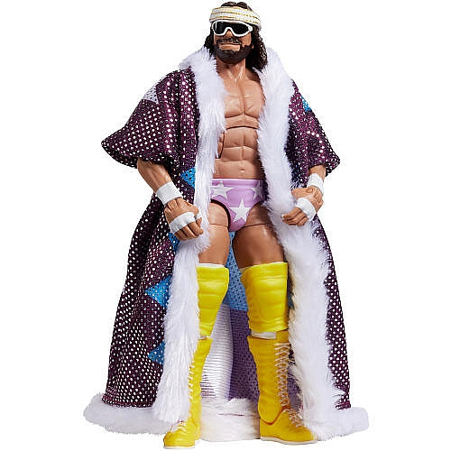 FIGURINE MACHO MAN RANDY SAVAGE WWE DEFINING MOMENTS 1