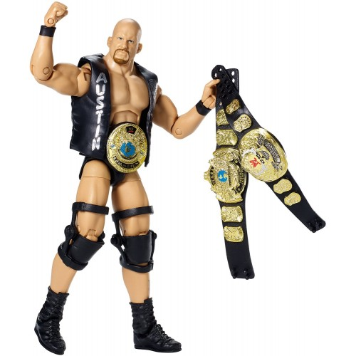 FIGURINES STONE COLD STEVE AUSTIN WWE DEFINING MOMENTS ELITE 1