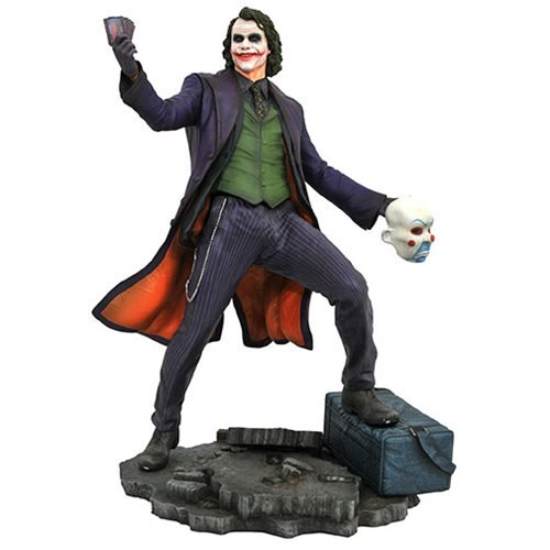 DC GALLERY BATMAN DARK KNIGHT MOVIE THE JOKER HEATH LEDGER STATUE 1