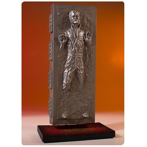 Star Wars Han Solo in Carbonite Collector's Gallery Statue 1
