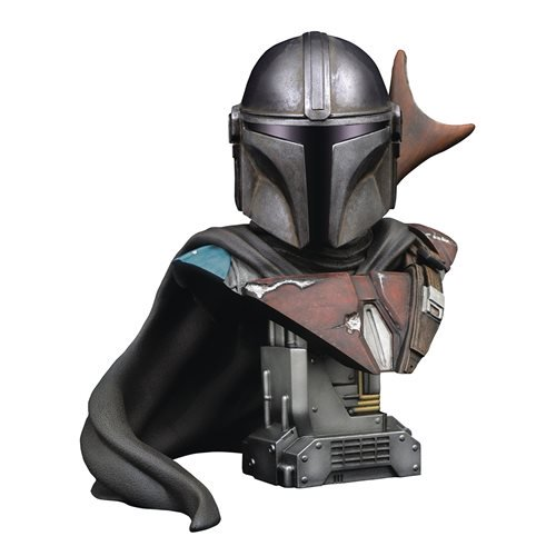 STAR WARS THE MANDALORIAN 1/2 SCALE BUST LEGENDS IN 3D 1
