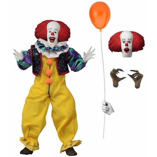 IT 1990 PENNYWISE 8 INCH CLOTHED FIGURE 1