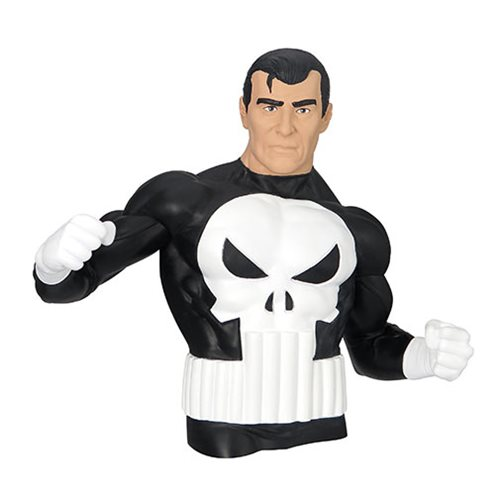 PUNISHER MARVEL COMIC BUST BANK 1