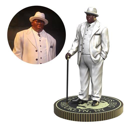 RAP ICONZ NOTORIOUS B.I.G. BIGGIE SMALLS STATUE 1