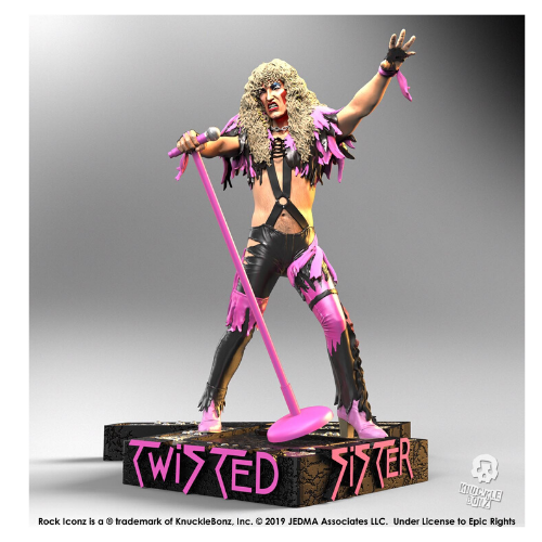 Rock Iconz TWISTED SISTER  Dee Snider STATUE 1