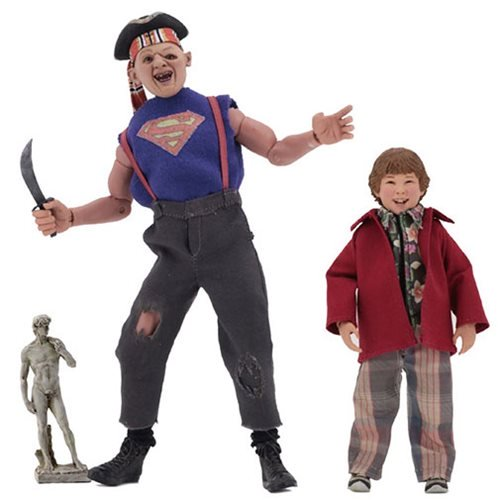 GOONIES SLOTH AND CHUNK 8 INCH CLOTHED FIGURE 1