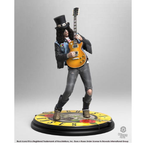 GUNS N' ROSES SLASH Rock Iconz STATUE 1
