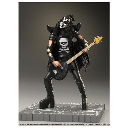 KISS THE DEMON GENE SIMMONS HOTTER THAN HELL Rock Iconz STATUE 1