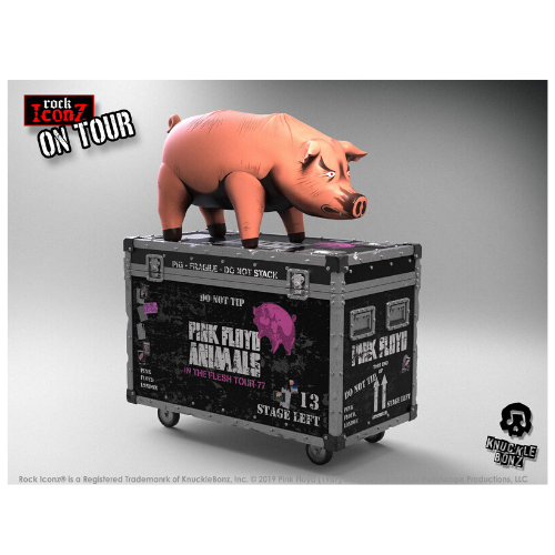 PINK FLOYD THE PIG ROCK ICONZ ON TOUR SERIES COLLECTIBLE STATUE 1