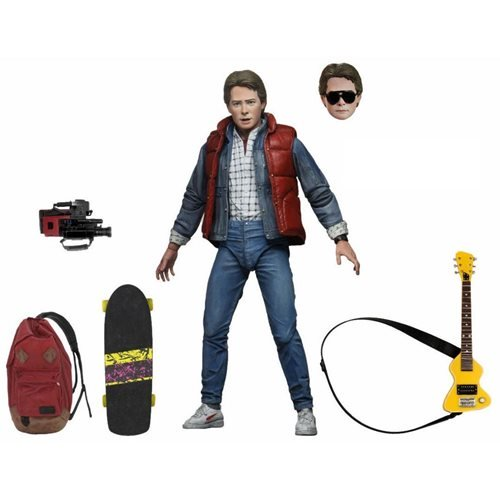 BACK TO THE FUTURE ULTIMATE MARTY MCFLY 7 INCH FIGURE 1
