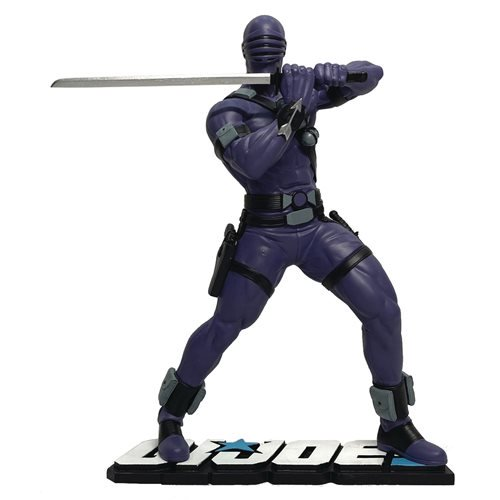 G.I. JOE SNAKE EYES 1:8 SCALE PVC STATUE 1