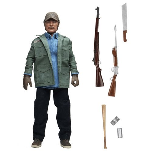 JAWS Sam Quint 8 INCH RETRO CLOTHED FIGURE 1