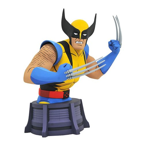MARVEL ANIMATED X-MEN WOLVERINE BUST 1