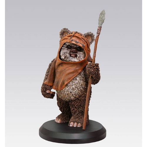STATUE Star Wars WICKET COLLECTION ÉLITE ÉCHELLE 1/10 1