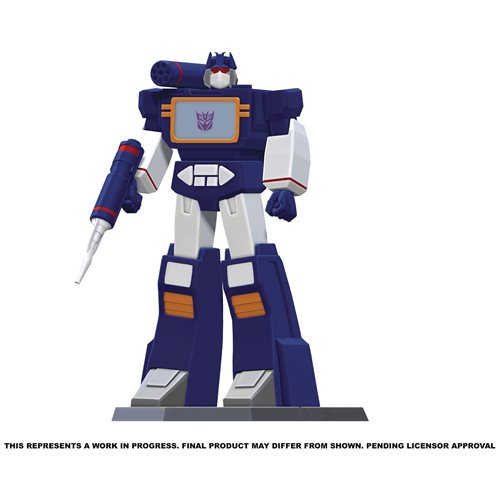 STATUE EN PVC TRANSFORMERS SOUNDWAVE 9 POUCES 1