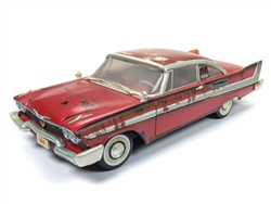 CHRISTINE STEPHEN KING 1958 PLYMOUTH FURY DIRTY VERSION 1:18 SCALE DIECAST VEHICLE 1
