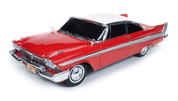 CHRISTINE STEPHEN KING 1958 PLYMOUTH FURY NIGHT VERSION 1:18 SCALE DIECAST VEHICLE 1