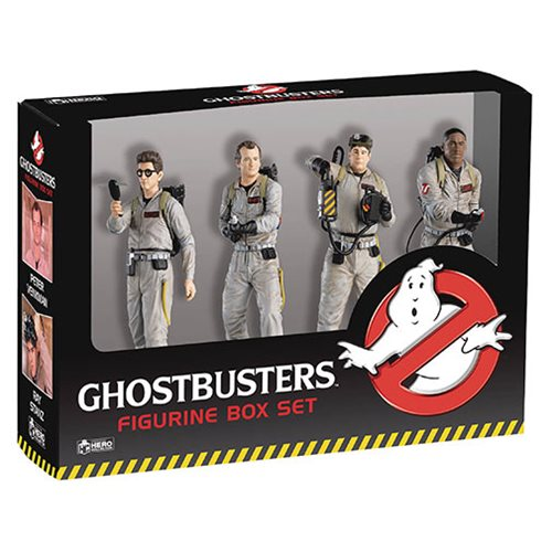 GHOSTBUSTERS FIGURES 4 PACK BOX SET 1