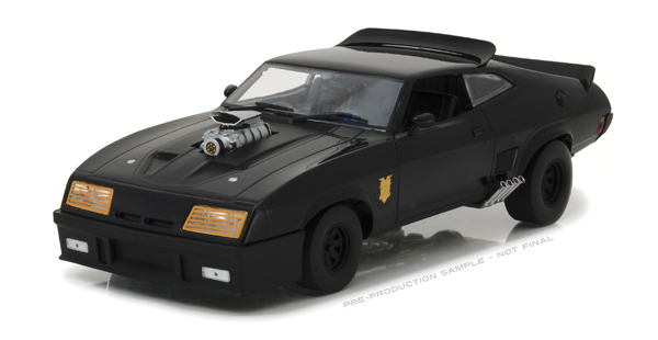 VÉHICULE EN MÉTAL MAD MAX FORD FALCON XB 1973 LAST OF THE INTERCEPTOR ÉCHELLE 1/18 1