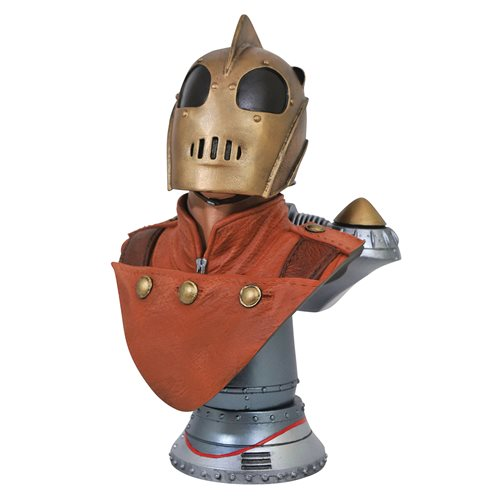 LEGENDS IN 3D ROCKETEER 1/2 SCALE BUST 1