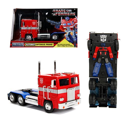 TRANSFORMERS G1 HOLLYWOOD RIDES OPTIMUS PRIME 1/24 SCALE DIECAST VEHICLE 1