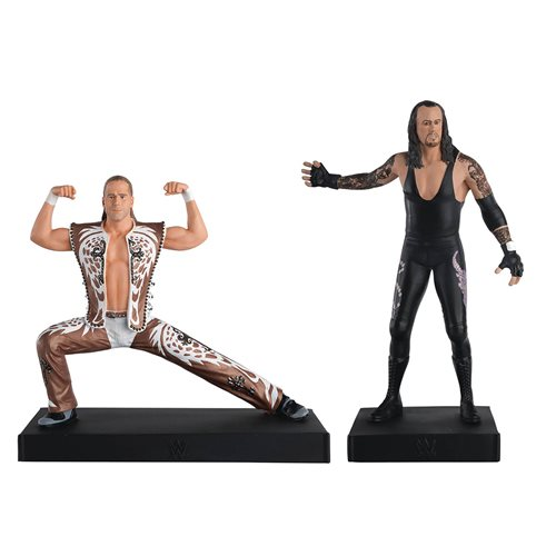 WWE CHAMPIONSHIP COLLECTION SHAWN MICHAEL VS UNDERTAKER FIGURES 2 PACK 1