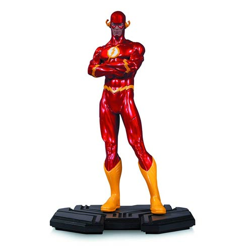 DC COMIC ICONS FLASH 1/6 SCALE STATUE 1