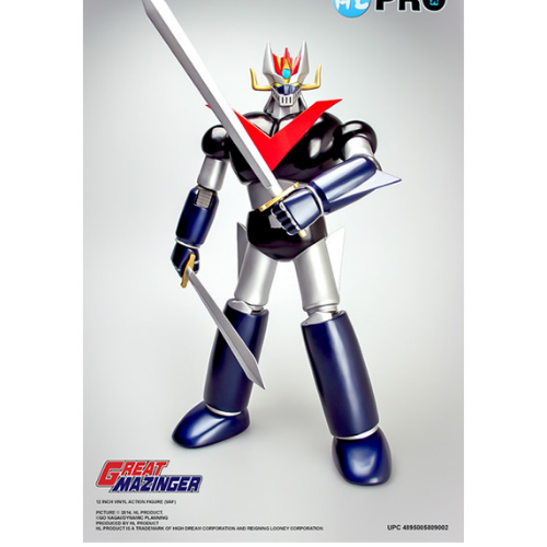GREAT MAZINGER 12 INCH FULL ACTION FIGURE 1