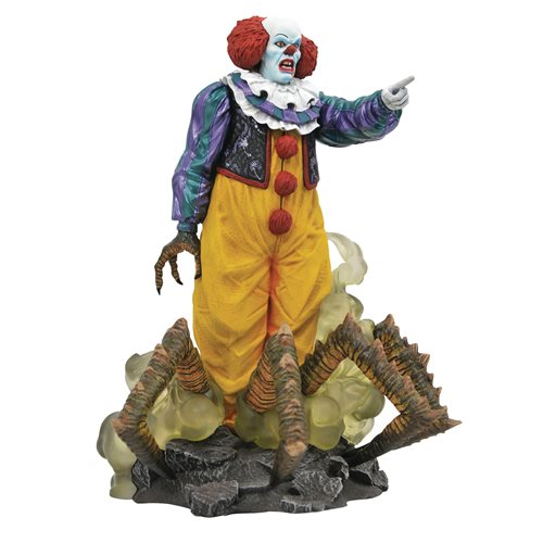 IT 1990 MOVIE GALLERY STEPHEN KING PENNY WISE  STATUE 1