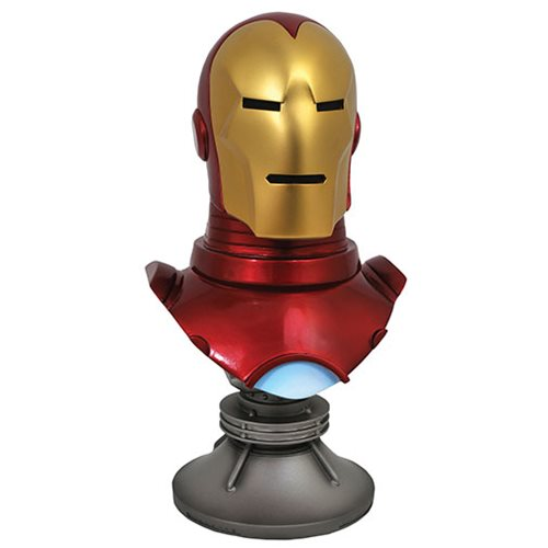 LEGENDS IN 3D MARVEL COMIC IRON MAN 1/2 SCALE BUST 1