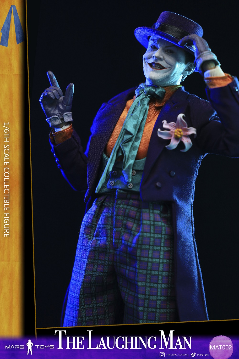 BATMAN 1989 JOKER THE LAUGHING MAN JACK NICHOLSON 1/6 SCALE FIGURE 3