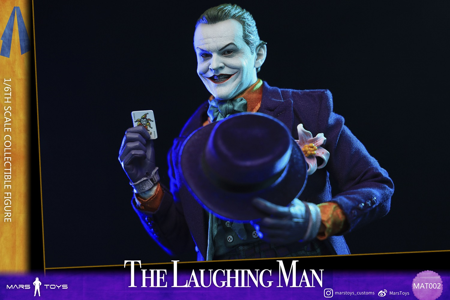 BATMAN 1989 JOKER THE LAUGHING MAN JACK NICHOLSON 1/6 SCALE FIGURE 4