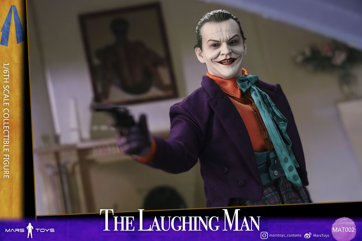BATMAN 1989 JOKER THE LAUGHING MAN JACK NICHOLSON 1/6 SCALE FIGURE 7