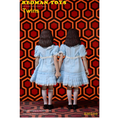 THE SHINING THE TWINS  SET 1/6 SCALE FIGURES 2