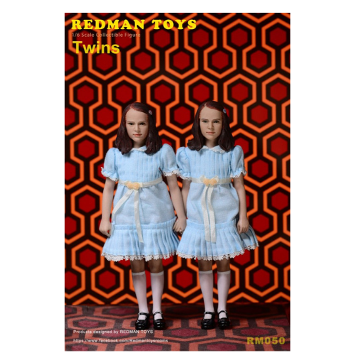 THE SHINING THE TWINS  SET 1/6 SCALE FIGURES 1
